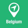 BigGuide Bélgica Mapa + Definitiva Guía Turística y Navegación de voz Desconectada