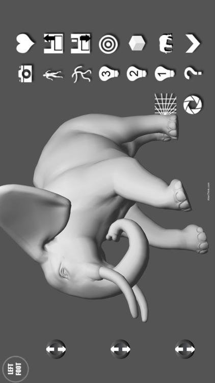 Elephant Pose Tool 3D screenshot-4