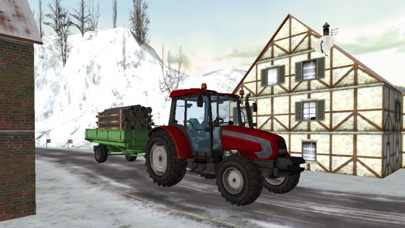 Real snow Tracktor Simulator 2016