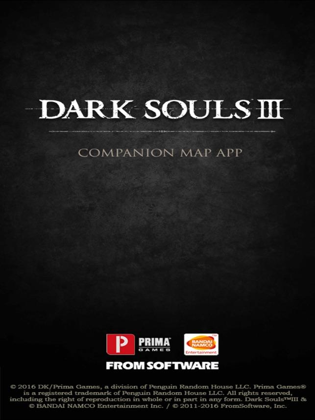 Dark Souls III Map Companion on
