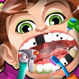 Crazy Nick's Celebrity Dentist Story – 5 Dentistry Games for Free