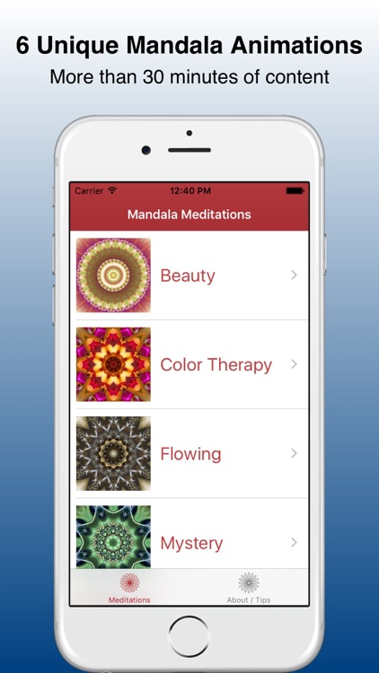 Mandala Meditations screenshot-0