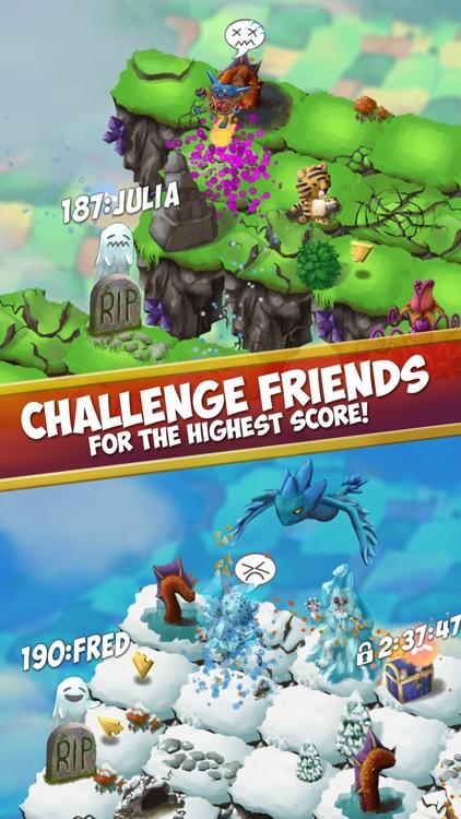 Sky Hop Saga - Endless Arcade Hopper screenshot-4