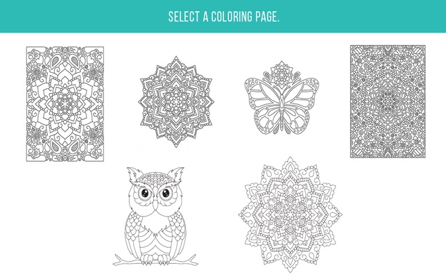 Zen Colouring Book For Adults On The Mac App Store