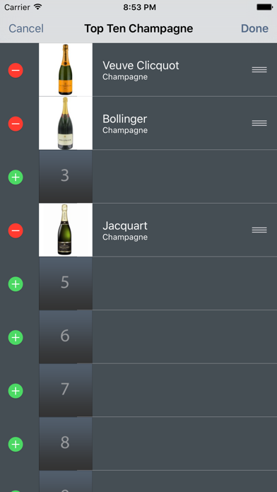 My Wine Collection review screenshots