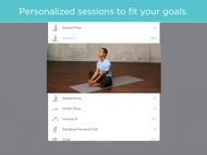 FitStar Yoga ipad images