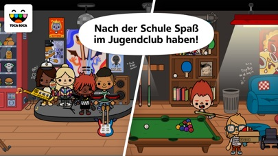 Screenshot for Toca Life: School in Austria App Store