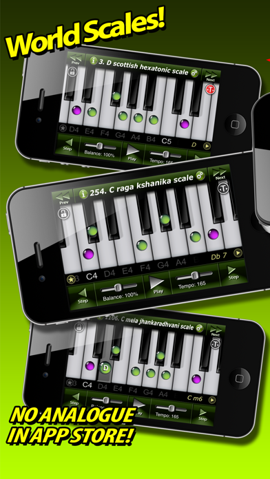 Piano Chord-Scales by Fonexsis (iOS, United States) - SearchMan App