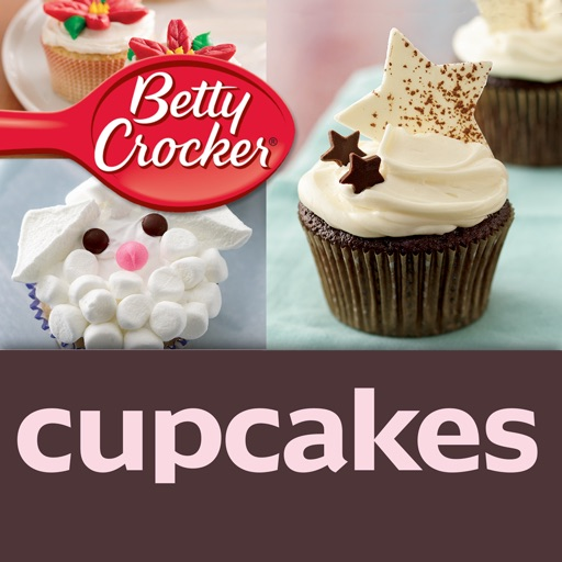 Cupcake Recipes: Betty Crocker The Big Book of Series icon