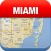 迈阿密离线地图 - 城市 地铁 机场