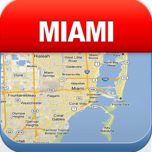Miami Offline Map - City Metro Airport
