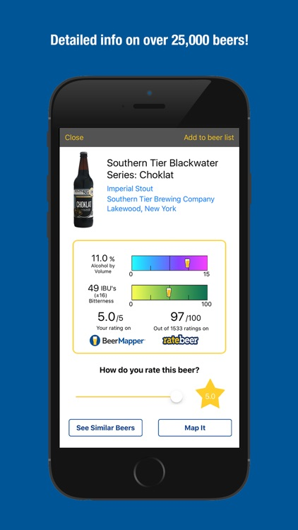 BeerMapper - Discover better beer.