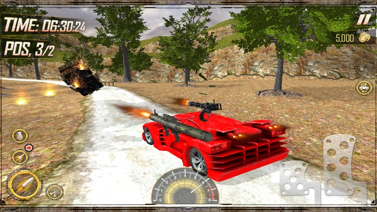 Furious Death Race 3D – Cars Combat Kills Rally Racing screenshot-4
