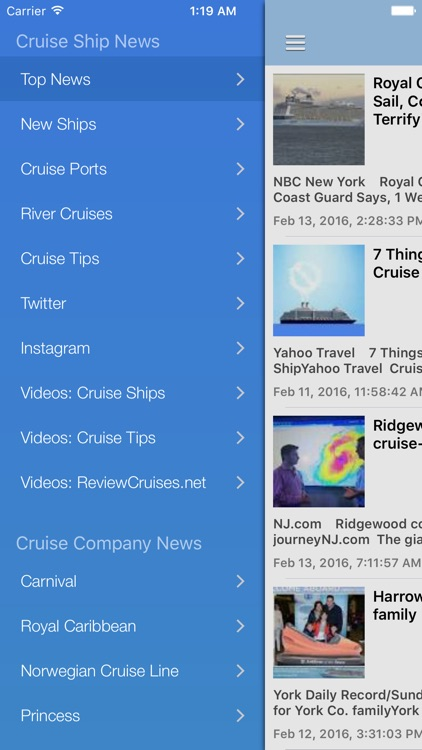 Cruise Ship & Port News Pro