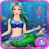小美人鱼水下海洋女王温泉化妆扮靓化妆美容沙龙。