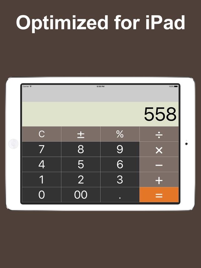 Calculator For Ipad Free Calc 4
