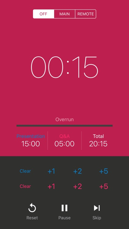PresenTimer - a true timer for presentation screenshot-3