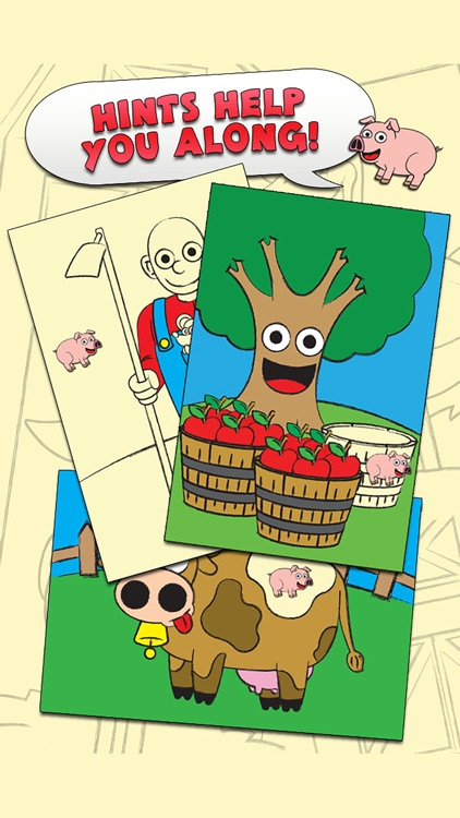 Coloring Farm Animal Coloring Book For Kids Free screenshot-3