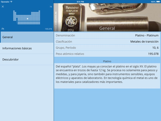 Merck tabla peridica de los elementos en app store urtaz Image collections