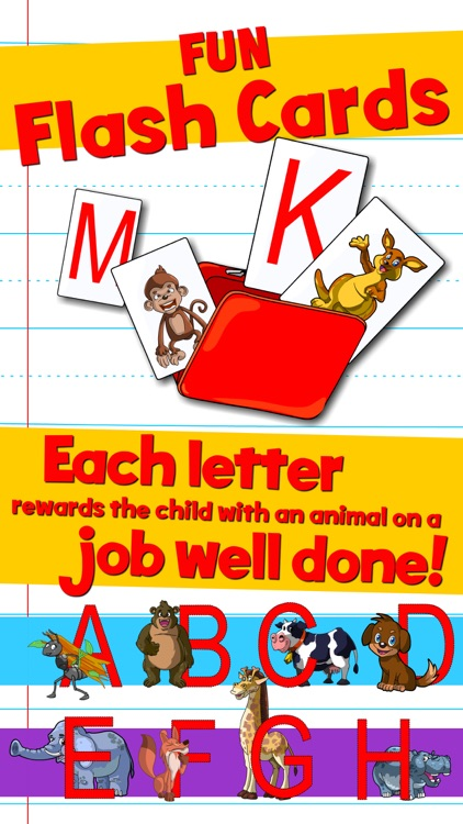 Learn ABC and alphabet thru trace game, flash cards and song.