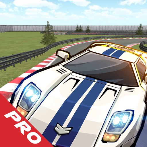 Airborne Speed Race PRO- Impossible Car Racing icon
