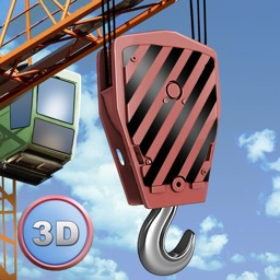 City Tower Crane 3D Simulator Full - Real city construction