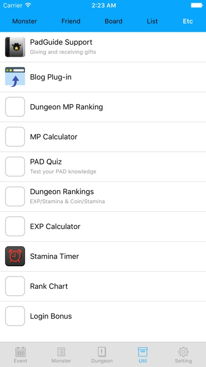 PadGuide for Puzzle & Dragons screenshot-3