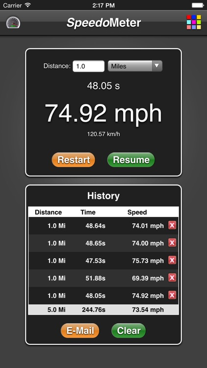 Speedometer App screenshot-0