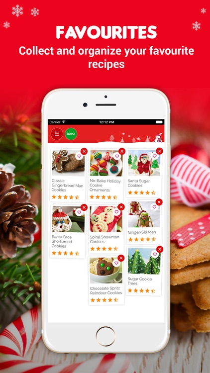 Christmas Cookie Recipes Pro ~ Most beloved traditional Christmas cookie recipes screenshot-3