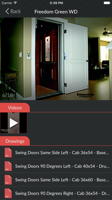 download Nationwide Lifts Elevator Guide - best selection of home and commercial elevators. apps 3