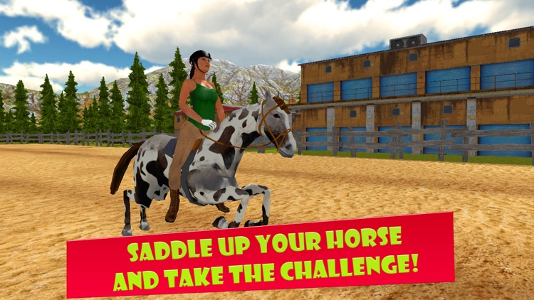 Horse Riding 3D: Show Jumping Full screenshot-3
