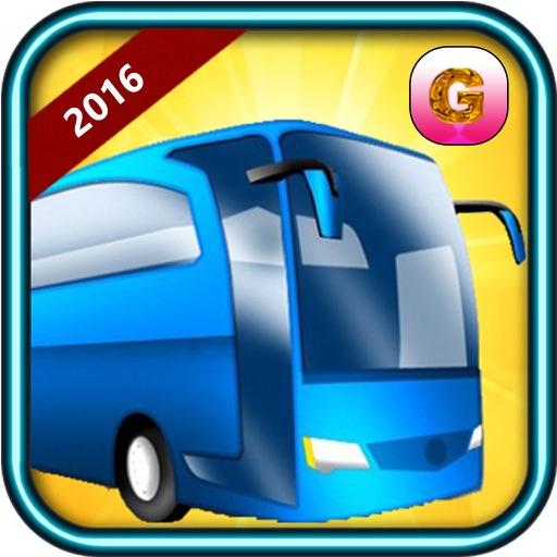 City Bus Driving Simulator 2016 - Real passengers pick & drop driver traffic parking Sim