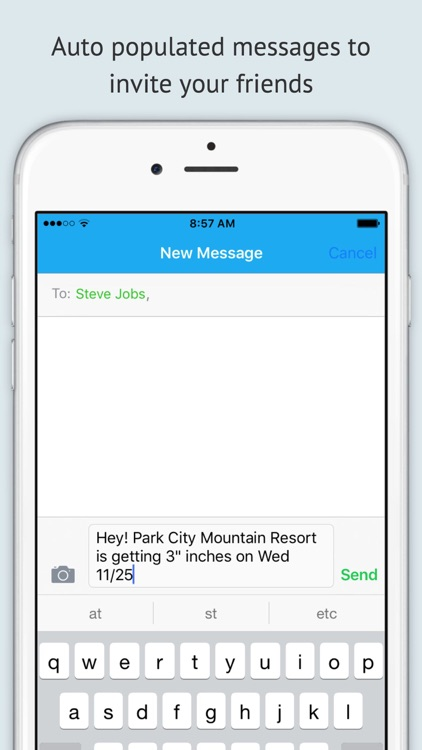 Powder Fiend - A snow forecast and report tracking app for ski/snowboarding resorts