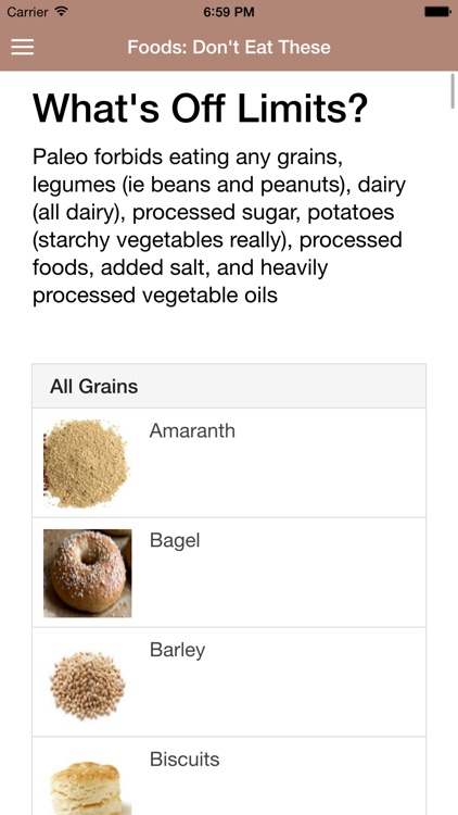 Paleo Diet Guide screenshot-4