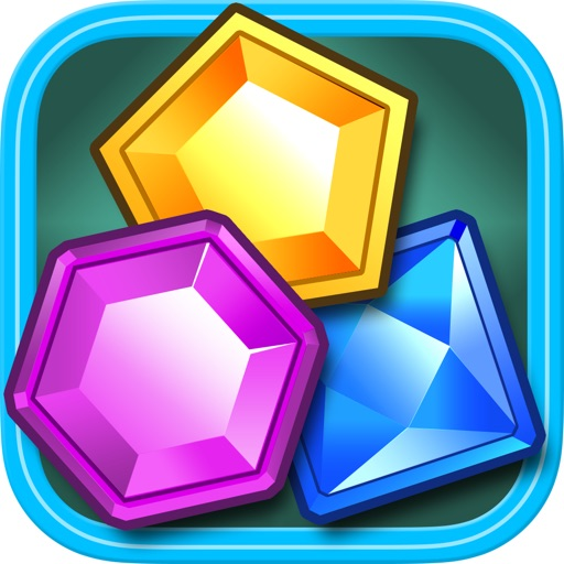 Jewel Star Match 3 game icon