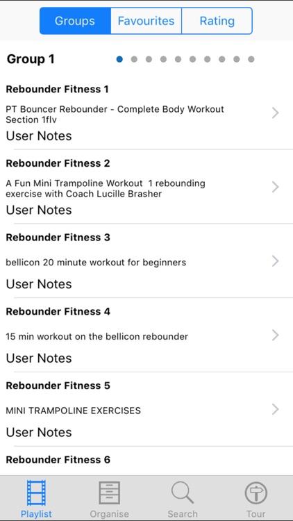 Rebounder Fitness