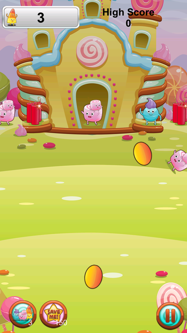 Candy Frenzy Free Game screenshot two