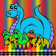 Activities of Dinosaur Coloring Book -  Dino Drawing For Good Kid Games