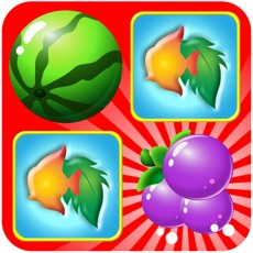 Activities of Fruit And Fish Preschool Educational Matching Games for Kids