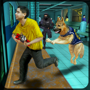 Subway Police Dog Simulator – Cop dogs chase simulation game