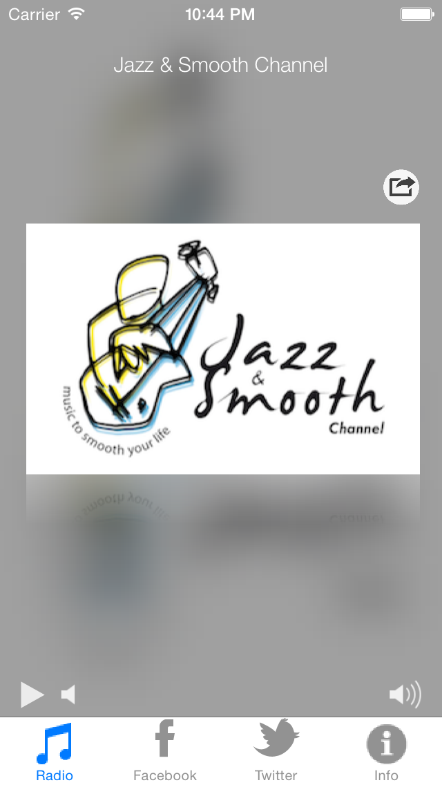 Jazz And Smooth Channel screenshot one