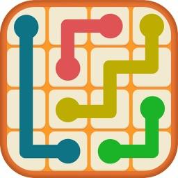 Number Link - Logic Color Twisty Line Path Puzzle