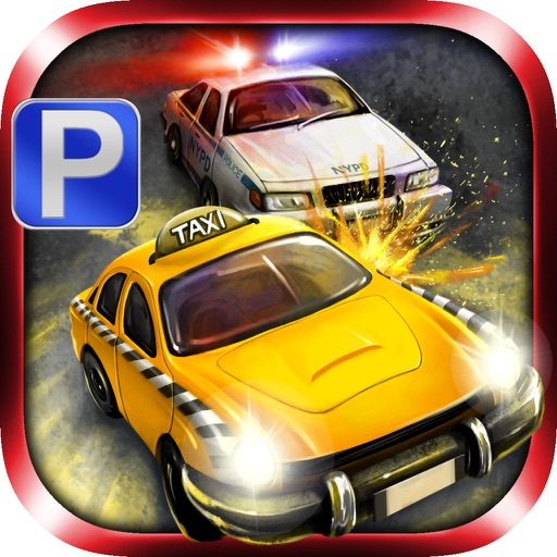 3D Taxi Parking - eXtreme Gangster Vs Police Chase Simulator