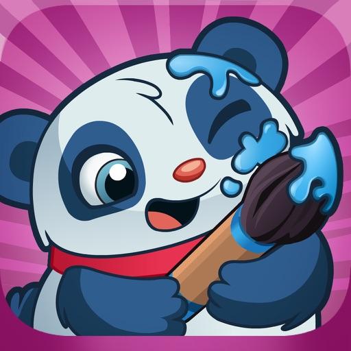 CosmoCamp: Coloring Book Game App for Toddlers and Preschoolers iOS App