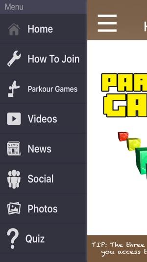 best minecraft pe parkour servers
