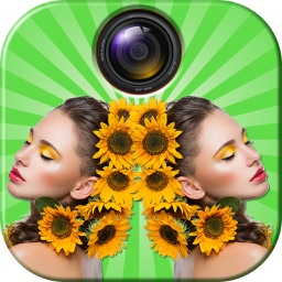 Mirror Effect Photo Editor – Best Picture Reflection Montage Maker to Clone Your Pic.s