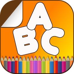 Alphabet Coloring Book Fun