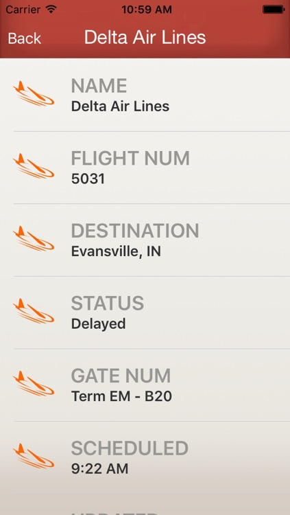 Flighty - Live Flight Arrival & Departure Status & Times screenshot-4