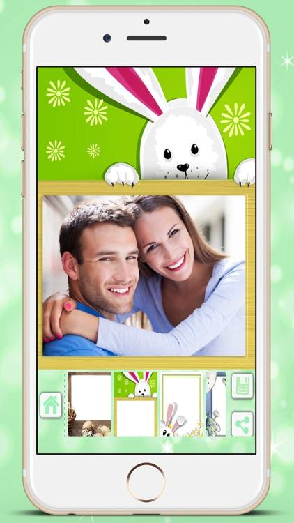 Easter photo editor camera - holiday pictures in frames to collage