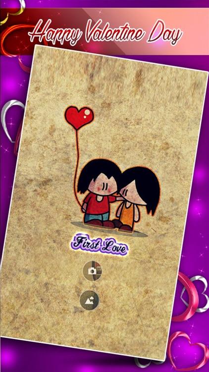 Photo Studio Writer - Put Valentine Love Text on Pictures